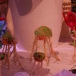 Mina aliens på utställningen Next Level Craft